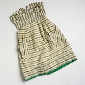 Anthropologie Maeve Changing Stripes Dress Sz 6